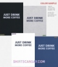 Just drink more coffee