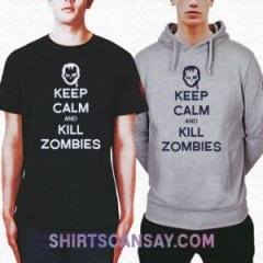KEEP CALM AND KILL ZOMBIES #좀비 #티셔츠 #후드티
